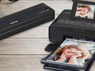 mobiele fotoprinter