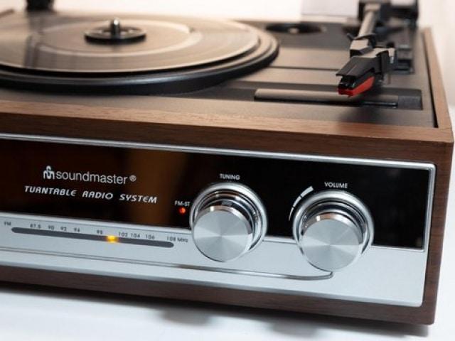 Soundmaster PL 186 H - Platenspeler