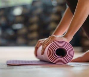 pilates yogamat